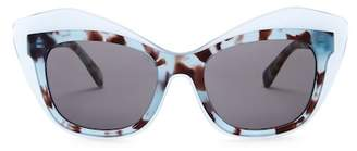 Diane von Furstenberg Sussi 53mm Cat Eye Sunglasses