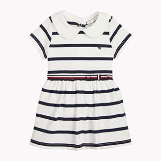 Tommy Hilfiger Girls' Baby Rugby Stripe Dress S/S