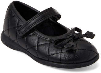 Rachel Toddler Girls) Black Gracelyn Quilted Mary Jane Shoes