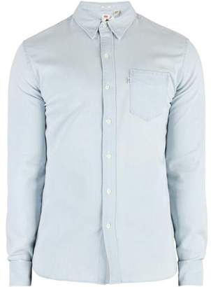 Men's Sunset Pocket Shirt, Blue