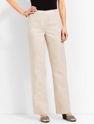 Talbots Windsor Linen Wide-Leg Pant
