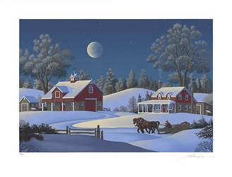 One Kings Lane Vintage Jim Buckels - Winterset Farm - SIGNED