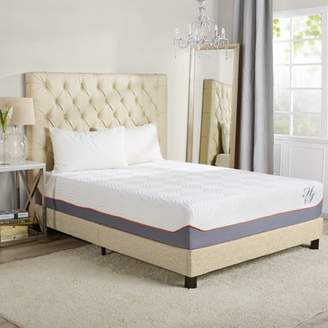 """+Hotel by K-bros&Co HOTEL STYLE Hotel Style 14"""" Cooling Memory Foam Hybrid iCoil Spring Mattress"""