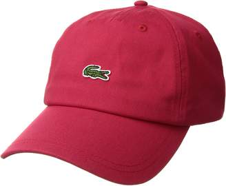 Lacoste Men's Small Croc Strapback Cap