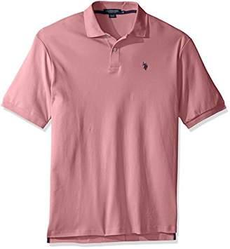 U.S. Polo Assn. Men's Big and Tall Solid Interlock Polo Shirt