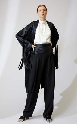 Loewe Satin Duster Coat