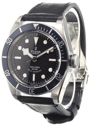 Tudor 'Black Bay' analog watch $2,739 thestylecure.com