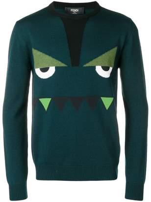 Fendi crew neck sweater