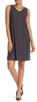 Eileen Fisher Sleeveless Solid Dress