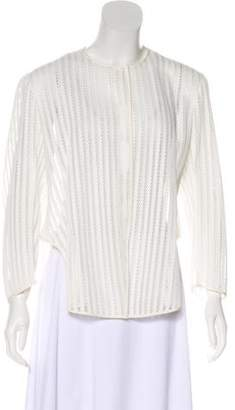 Christian Dior Scoop Neck Lace Jacket