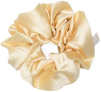 Holistic Silk Pure Mulberry Silk Scrunchie Cream