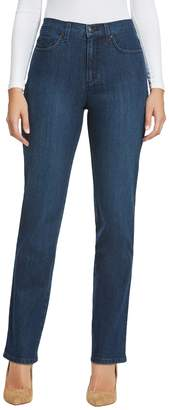 Gloria Vanderbilt Women's Classic Tapered Amanda Jean, Scottsdale Wash/Blossom Embroidery