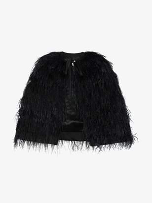 Osman Ostrich Feather Cape