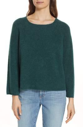 Eileen Fisher Bell Sleeve Cashmere Blend Sweater