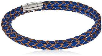 Ed Jacobs Men's Leather Bracelet
