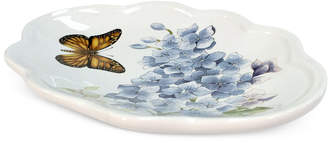 Lenox Blue Floral Garden Soap Dish Bedding