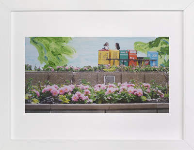 Toronto Newspaper Boxes Art Print