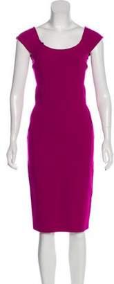 Diane von Furstenberg Alejetta Off-The-Shoulder Knee-Length Dress