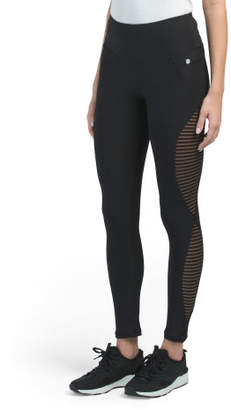 Tummy Control Mesh Side Leggings