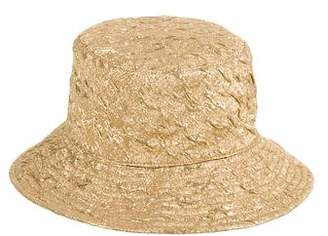 Michael Kors Metallic Woven Hat