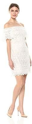 Eliza J Women's Off-The-Shoulder Lace Dress