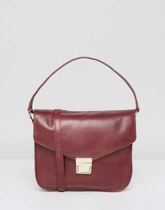 Urban Code Urbancode leather cross body bag with top handle