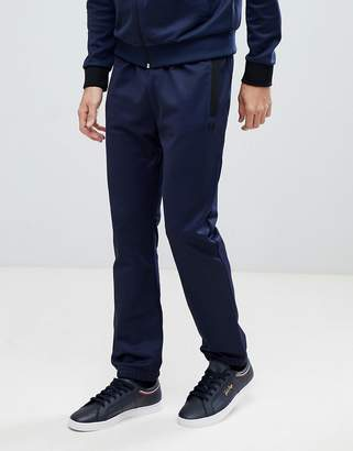 Fred Perry Tonal Track Pant In Blue