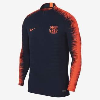 Nike FC Barcelona VaporKnit Strike Drill Men's Soccer Top