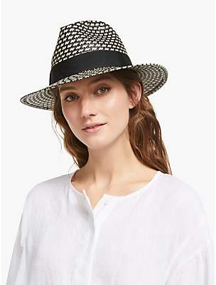 9be1fab80a930 John Lewis   Partners Textured Fedora Hat