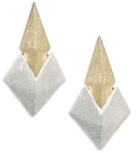 Stephanie Kantis Battle Two-Tone Earrings
