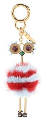 Fendi Fur-embellished bag charm