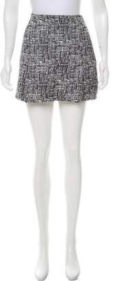 Joie Pattern Knit Mini Skirt