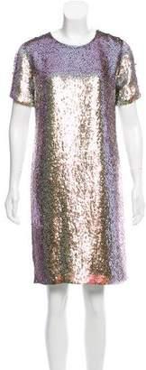 Gucci Sequin Embellished Cocktail Dress
