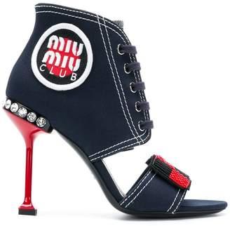 Miu Miu pin heeled sandals