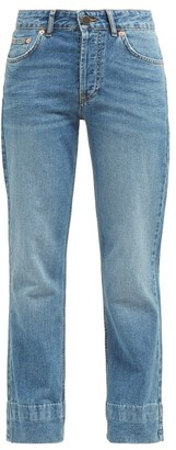 Raey Hand Me Down Straight Leg Jeans - Womens - Blue