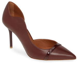 Malone Souliers Morrissey Wave Asymmetrical Pump