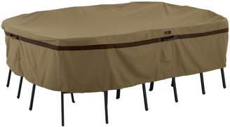 Classic Accessories Hickory X-Large Rectangular or Oval Patio Table & Chairs Cover