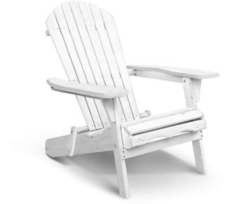 Adirondack Dwell Outdoor White Hudson Foldable Chair