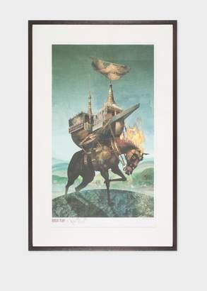 Paul Smith Vintage Framed Poster - Robert Plant - Nine Lives 2006