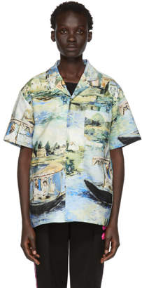 Off-White Off White Multicolor Lake Holiday Shirt