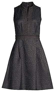 Lilly Pulitzer Women's Franci Metallic Jacquard Dress