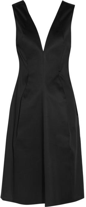 Jil Sander Ninety Nine cotton-sateen dress