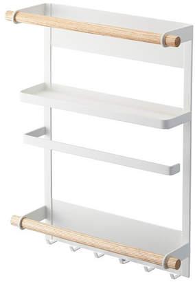 "Yamazaki Home Magnetic Kitchen Organization Rack ""Tosca"""