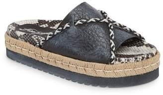 Free People Dempesey Footbed Slide Sandal (Women)