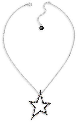 Karl Lagerfeld PARIS Ikonik Crystal Open Star Necklace