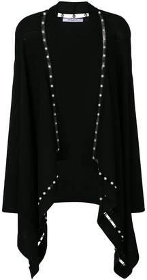 Givenchy faux pearl trim cardigan
