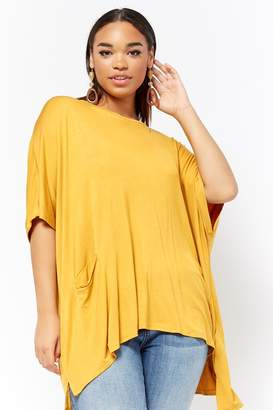 Forever 21 Plus Size Relaxed Scoop Neck Top