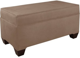 Skyline Furniture Velvet Storage Bench, Multiple Colors