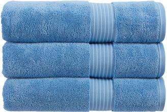Christy Supreme Hygro Towel - Cadet Blue - Face