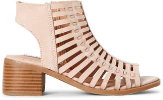 Steve Madden Kids Girls) Blush Jamillah Caged Sandals